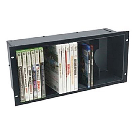 Middle Atlantic 5 Space DVD Shelf - Anodized Finish