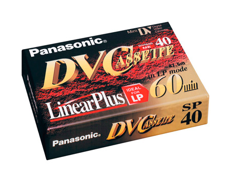Panasonic 40-Minute Mini DV Video Cassette