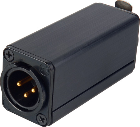 Digital XLR Male-Female Chassis Mount