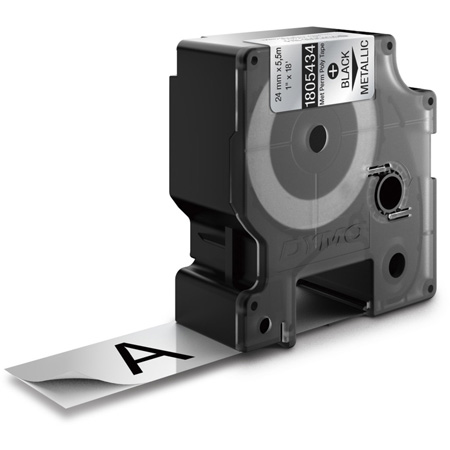 Dymo 1805434 Rhino 1-Inch Metalized Permanent Labels