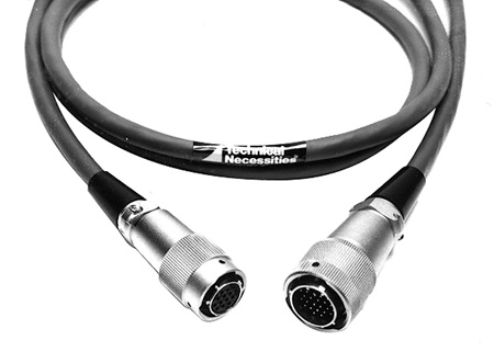26-Pin Male to 14-Pin Female Sony CCQZ Camera Cable 7 Foot