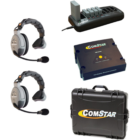 Eartec Comstar XT-2 Complete 2 Person System