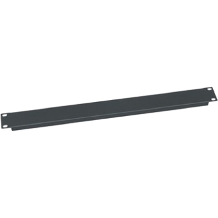 Middle Atlantic EB series 1 Sp #16 Flanged Steel Econo Panel black powder coat pebbled finish