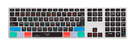 Editors Keys LOGX-AK-CC-2 Logic Pro X Cover for iMac Ultra Thin Keyboard