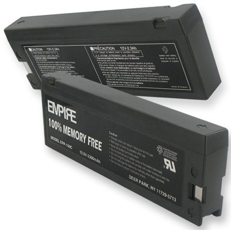Lead Acid 12V 2.3 Ah Battery for Panasonic PV-BP80/88