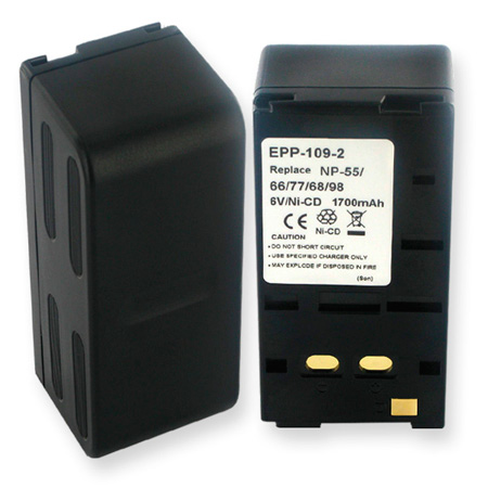 Empire EPP-109-2 - 2.0 Ah NiCad Replacement Battery for NP-66