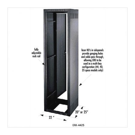 ERK-2720LRD 27RU (47-1/4in) 19.5 Inch Deep Stand Alone Rack - No Rear Door