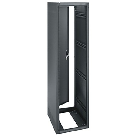 ERK-4020 40RU (70in) 20-Inch Deep Stand Alone Rack wtih Rear Door - Black
