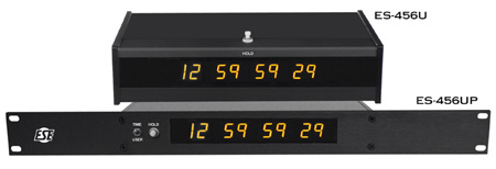 ESE ES-456U SMPTE / EBU Timecode Display