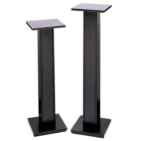 Chief ESS-42BSL Speaker Stand w/14in Shelf - Ebony