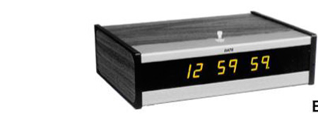 ESE ES 194U Desk Top Master Clock With HR Option
