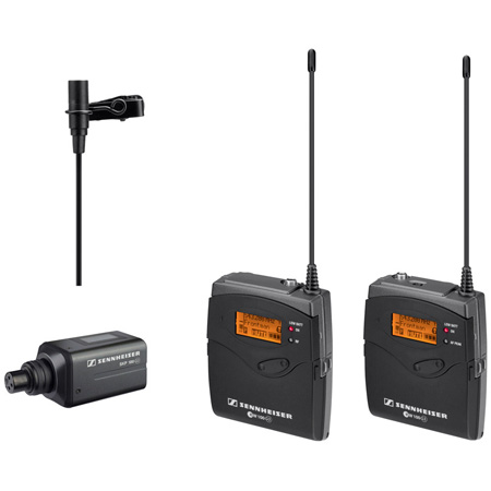 Sennheiser EW 100 ENG G3 Lav & Snap-On Wireless System Tx 566-608 MHz