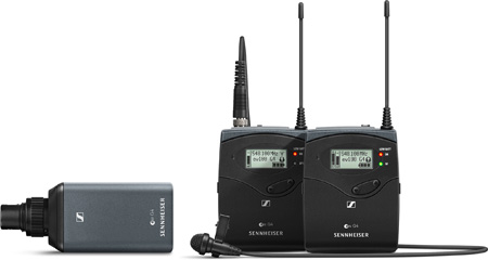Sennheiser EW 100 ENG G4-A1 Portable Wireless Combo Set (470 - 516 Mhz)