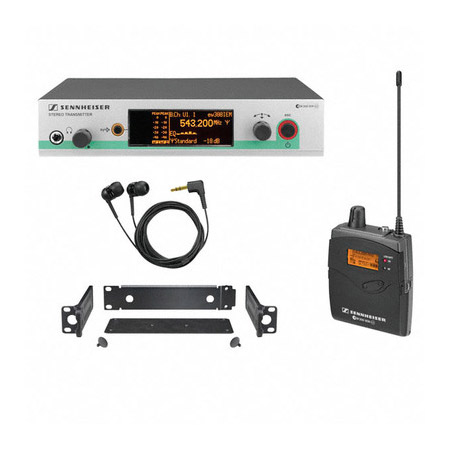 Sennheiser EW300-21EMG3-A  Evolution Wireless G3 Dual Transmitter System 518-558 MHz
