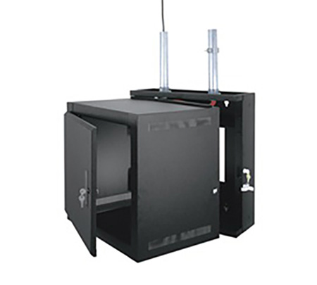Middle Atlantic EWR-12-17SD EWR Series 12 Space 17 Deep Wall Mount Rack - Solid Dorr