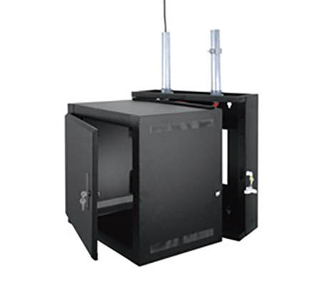 Middle Atlantic EWR-8-17SD EWR Series 8 Space 17 Deep Wall Mount Rack - Solid Door