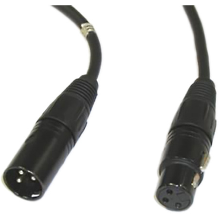 Intercom Extension Cable XLRM to XLRF 25ft
