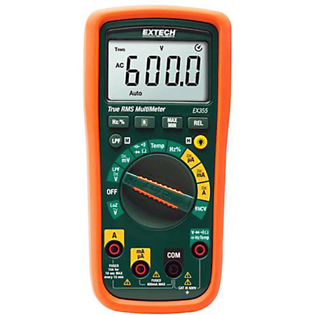Extech EX355 12 Function True RMS Multimeter plus NCV