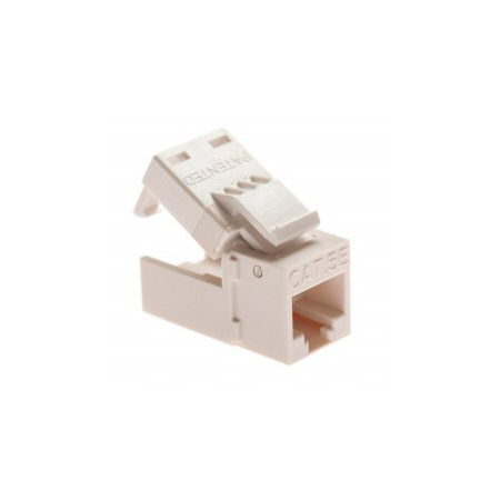 Platinum Tools 705WH-20J EZ-SnapJack Cat5e - White 20/Jar