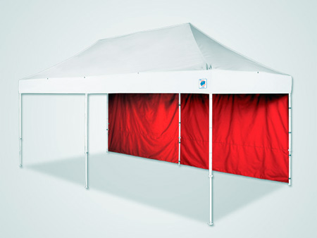 E-Z Up 10x20 ft Eclipse 2 Shelter - Red - w / Cover
