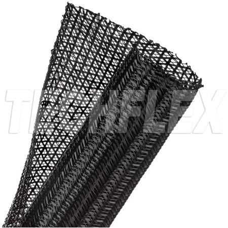 TechFlex F6N1.50BK250 1 1/2 Inch F6-Self Wrap Sleeving Black 250 Ft.