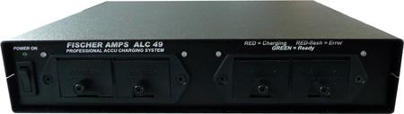 Fischer Amps ALC-49 Half Rack-mount Battery Charger for 4 9V Rechargable Batteries