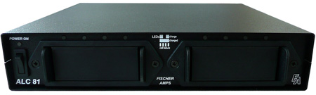 Fischer Amps ALC-81 Half Rack-mount for 8 AA or AAA Rechargeable Batteries
