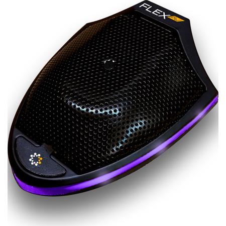 Flex AV FM-19D Dante-Enabled Audio over Ethernet Microphone - Black
