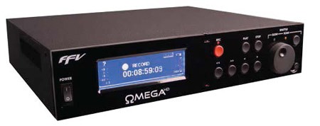 Fast Forward Video OMEGA HD SPR - HD/SD Broadcast Quality Tapeless DVR with AES Digital Audio