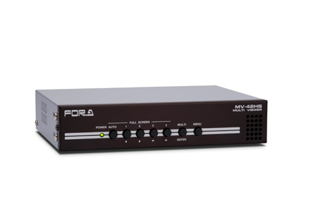 FOR-A HD/SD-SDI Quad Multi Viewer Half Rack Width size