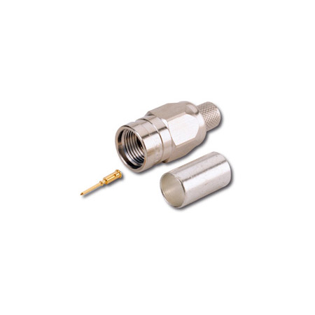 Canare FP-C4F F Connector for L-4CFB & Belden 1505A or 8241F