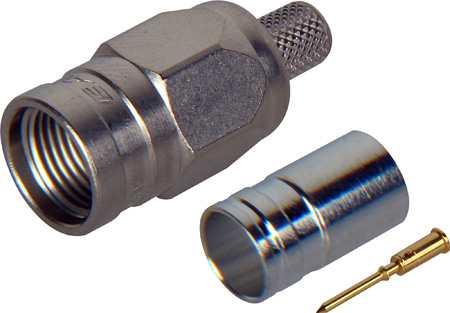 Canare FP-C53A F Connector for Belden 1694A or RG-6