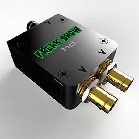 Freakshow HD Mini 1x2 3G HD-SDI Reclocking Video Distribution Amplifier