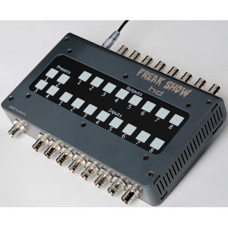 Freakshow 12G 4K 8x8 Matrix Switcher