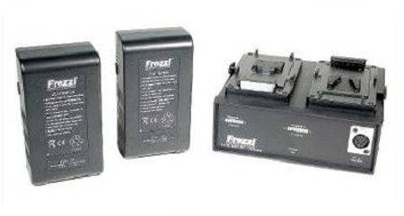 Frezzolini 93933 Lithium-Ion Power Package V mount (2) FLB-100V (1) FLC2V