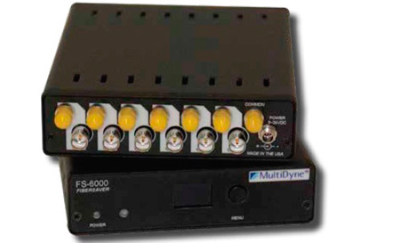 Multidyne FS-6000-RX-ST 6-Channel Fiber Optical Remapper/Multiplexer - Receiver