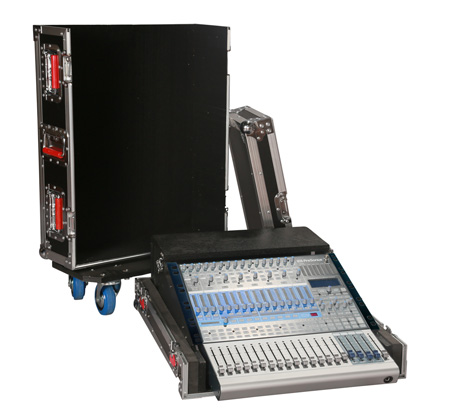 Gator G-TOUR PRE1642 ATA Wood Flight Case for Presonus StudioLive 16.4.2 Mixing Console with Doghouse Design