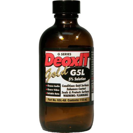 CAIG Products DeoxIT® GOLD G5L-4A Liquid 5 Percent Solution 118 ml