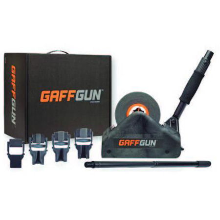 GaffTech GaffGun Gaffers Tape Gun Automatic Applicator & Roller Bundle with Accessories