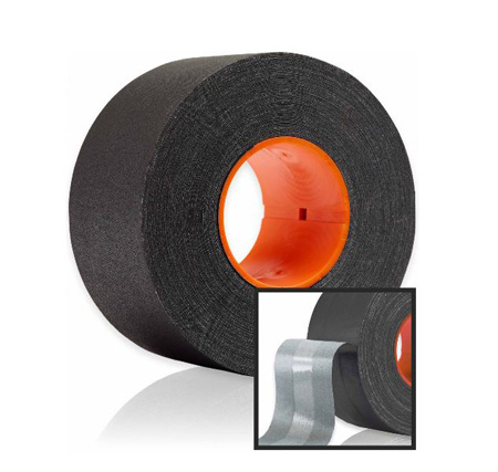GAFFTECH GT Pro with DryChannel Matt Cloth Gaffers Tape for GaffGun 3 Inches x 55 Yards - Black