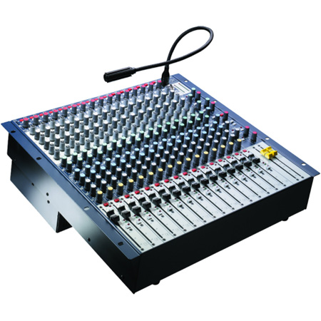 Soundcraft GB2R 12/2-CH. Rackmountable Mixer w/Rotatable Connector Pod