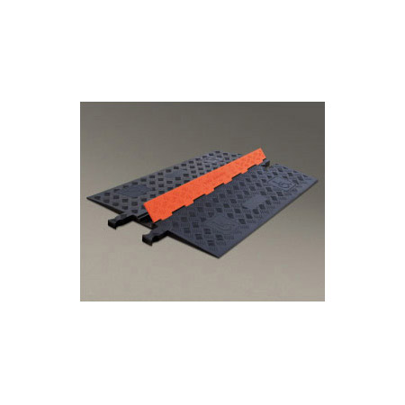 Guard Dog Low Profile-1 Channel with ADA Compliant Ramps - 3 Foot - Orange Lid/Black Base