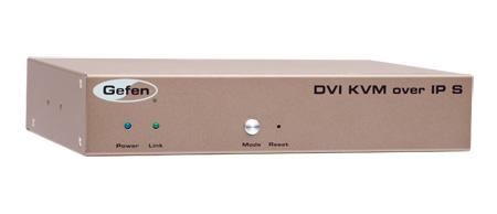 Gefen EXT-DVIKVM-LAN-LTX DVI KVM over IP w/ Local DVI Output - Sender Unit Package