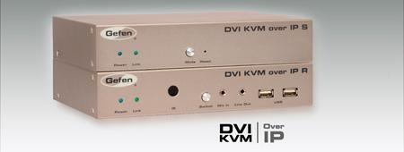 Gefen EXT-DVIKVM-LANRX DVI KVM over IP - Receiver Unit