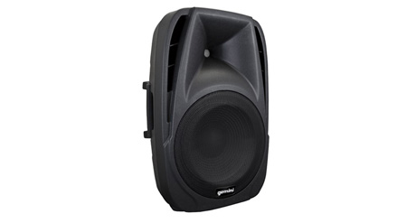 Gemini ES-12BLU 12 Inch Active Loudspeaker 600W Peak - Integrated MP3 Player with Bluetooth