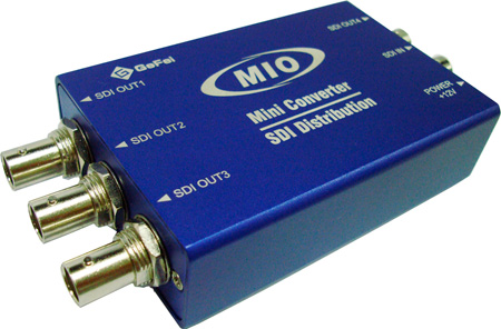 Gra-Vue MMIO VSD-HD 1x4 HD/SD-SDI ReClocking Video Distribution Amplifier