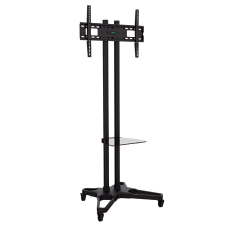 Bentley Mounts CMS-1021B Height Adjustable Mobile TV Stand - 37 to 70 Inch