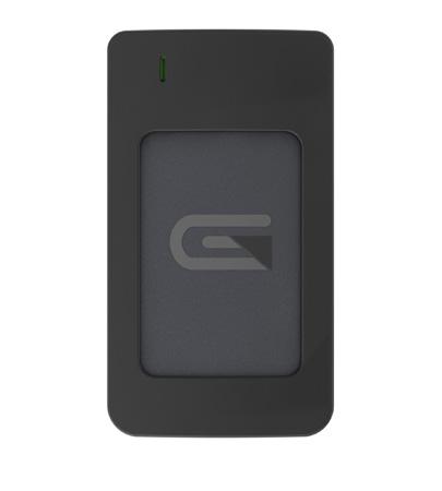 Glyph AR1000GRY Atom USB-C (3.1 Gen 2) / USB3.0 SSD Compatible with Thunderbolt 3 - Grey 1TB Raid