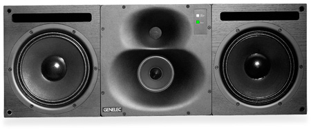Genelec 1038BCPM 2 x 10 In. Tri-Amplified Active Monitor