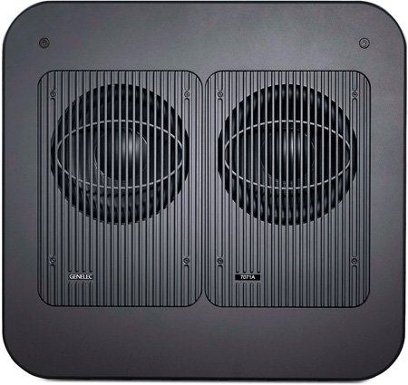 Genelec 7071APM 2 x 12 In. Active Subwoofer. Black Finish